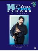 14 Blues & Funk Etudes - C Instruments (book/2 CD play-along)