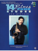14 Blues & Funk Etudes For Bass Clef Instruments (book/2 CD play-along)