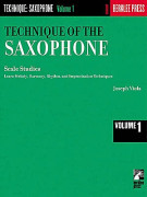 Technique Of The Saxophone volume 1: Scale Studies