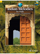 Indian Melodies for Violin (book/CD)