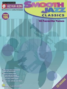 Jazz Play-Along Volume 155: Smooth Jazz Classics (book/CD)