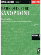 Technique Of The Saxophone volume 2: Chord Studies