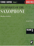 Technique Of The Saxophone volume 3: Rhythm Studies