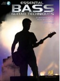 Essential Bass Guitar Techniques (book/Audio Online)