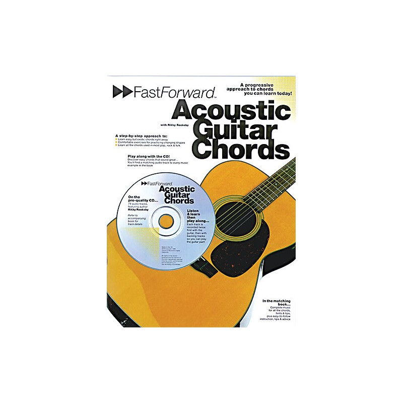 Fast Forward: Acoustic Guitar Chords (book/CD) - Birdland Shop