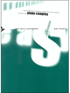 Easy Jazz Conception Piano Comping (book/CD play-along)