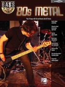 Bass Play-Along Volume 16 - 80s Metal (book/CD)