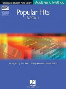 Adult Piano Method: Popular Hits Book 1 (book/CD)