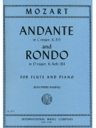 Mozart Andante and Rondo (For flute)