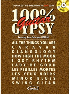 100% Gypsy Guitar (book/CD)