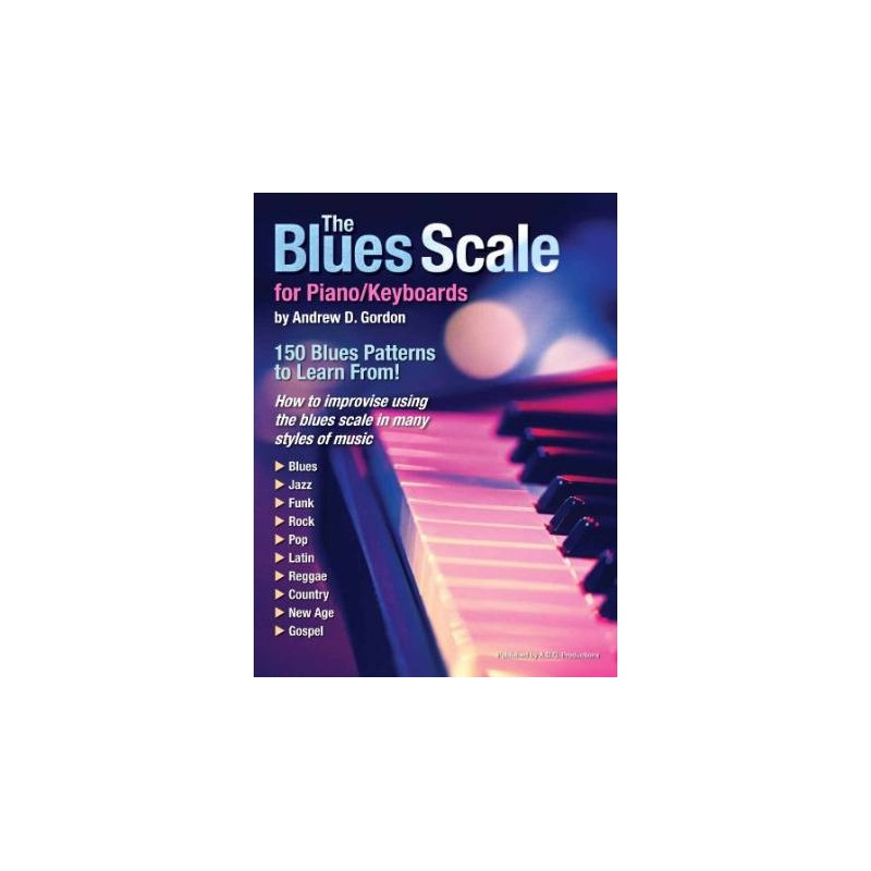 The Blues Scale for Piano/Keyboards (book/CD) - Birdland Shop