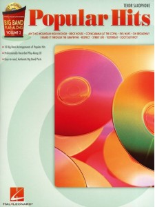 Big Band Play-Along: Popular Hits for Sax (book/CD)