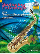 Swinging Folksongs for Alto Sax (book/CD/Midi-File)