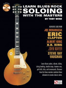 Learn Blues/Rock Soloing with the Masters (book/CD)