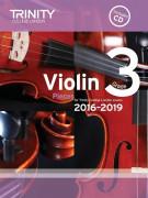 Trinity College London: Violin Exam Pieces - Grade 3 - 2016-2019