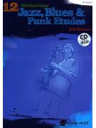 12 Medium-Easy Jazz, Blues & Funk Etudes for Trumpet (Book/CD)