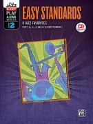 Jazz Play-Along Volume 2: Easy Standards (book/CD)