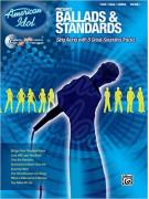 American Idol: Ballads & Standards (book/CD sing-along)