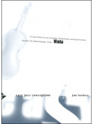 Easy Jazz Conception for Viola (book/ CD)