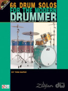 66 Drum Solos for the Modern Drummer (book/CD)