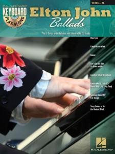 Keyboard Play-Along Volume 9: Elton John Ballads (book/CD)