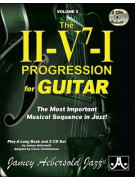 Aebersold Volume 3: The II-V7-I Progression for Guitar (book/2 CD)