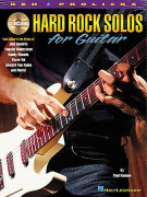 Hard Rock Solos for Guitar (book/CD)