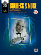 Brubeck & More Volume 3 (MP3 CD play along)
