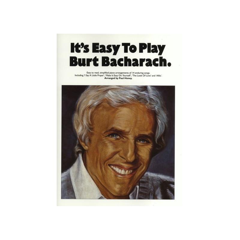 It's Easy To Play Burt Bacharach: Burt Bacharach ...