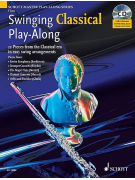 Swinging Classical Play-Along - Flute (book/CD)