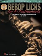 Bebop Licks for Eb Instruments (book/CD)