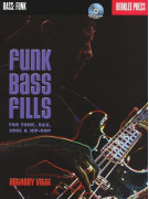 Funk Bass Fills (book/CD)