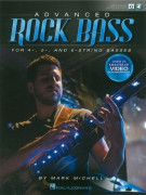 Advanced Rock Bass (book/Softcover Media Online)