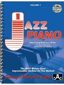 """Vol. 1 """"How To Play Jazz"""" For Piano (book/2 CD)"""