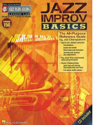Jazz Play-Along Vol. 150: Jazz Improv Basics (book/CD)