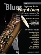 The Blues Play-A-Long for Tenor Sax Beginner Series (book/download audio MP3)