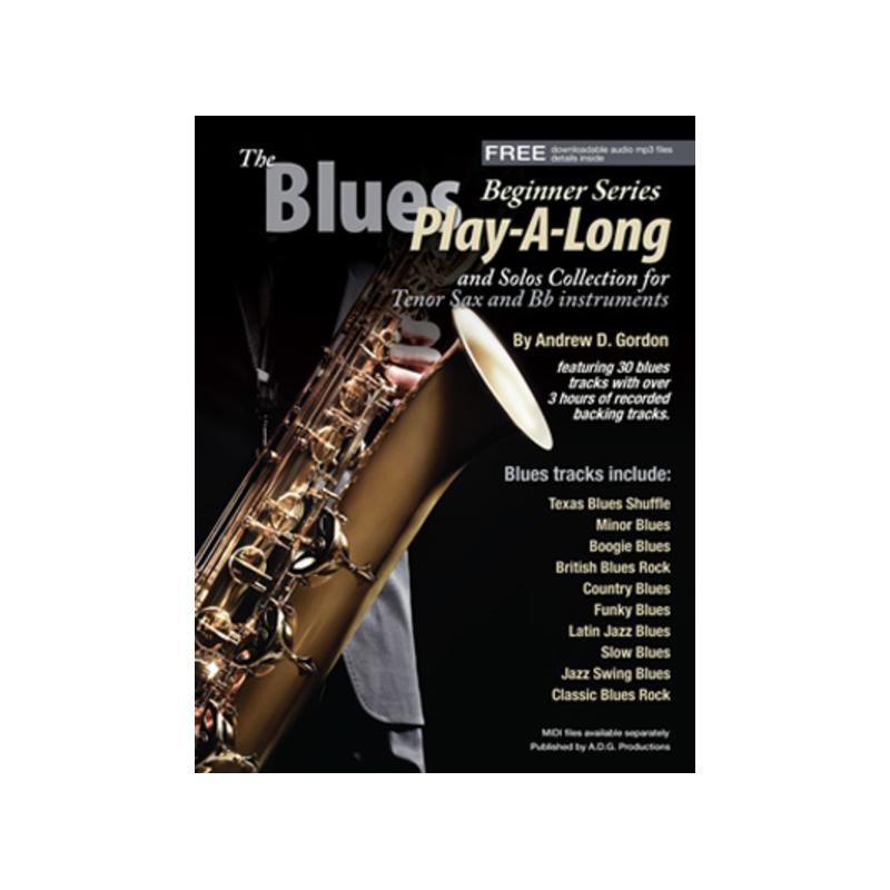 gordon Blues Play-A-Long for Tenor Sax www birdlandjazz it