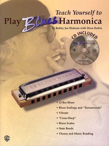 Teach Yourself to Play Blues Harmonica (book/CD) - Birdland Shop