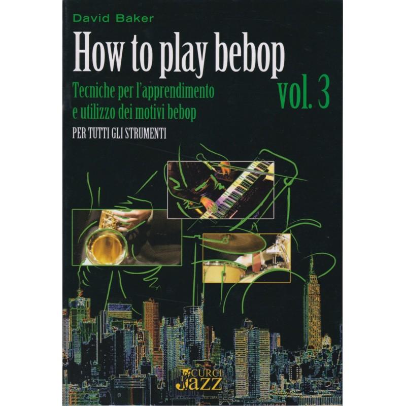 how to play bebop saxophone