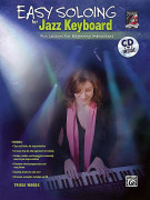 Easy Soloing for Jazz Keyboard (book/CD)