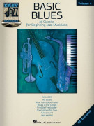 Easy Jazz Play-Along Volume 3: Basic Blues (book/CD)