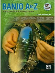 Banjo A to Z - 5-String Banjo (book/CD)