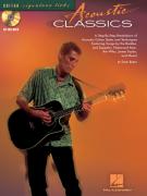 Guitar Signature Licks: Acoustic Classics (book/CD)