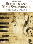 Themes from Beethoven's Nine Symphonies for Easy Piano