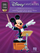 Sing with The Choir: Disney Favorites (book/CD)