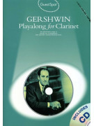 George Gershwin Playalong For Clarinet (book/CD)