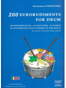 200 Eurorudiments for Drum