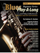 The Blues Play-A-Long for Alto Sax Beginner Series (book/download audio MP3)
