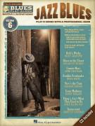 Blues Play-Along Volume 6: Jazz Blues (book/CD)