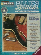 Blues Play-Along Volume 15: Blues Ballads (book/CD)